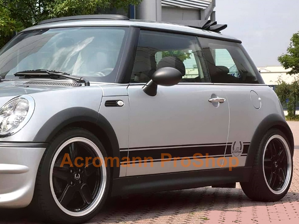 AC Schnitzer Mini Cooper Side Stripe Decal (Style#1) x 1 pair